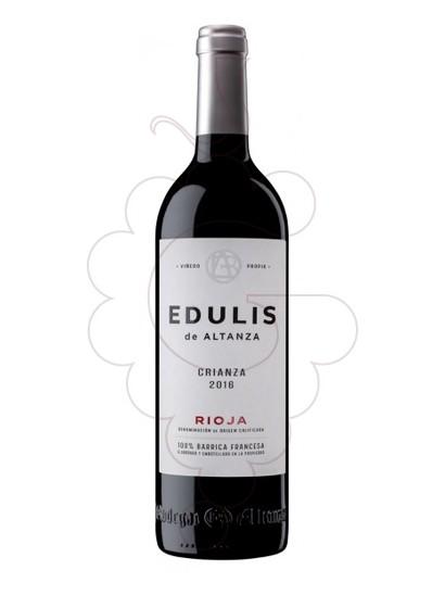 Photo Edulis Crianza red wine