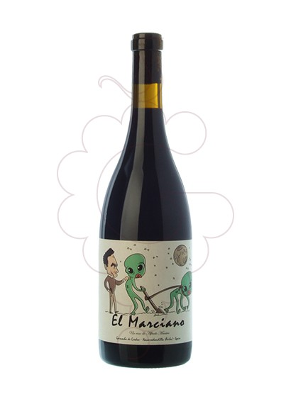 Photo El Marciano red wine