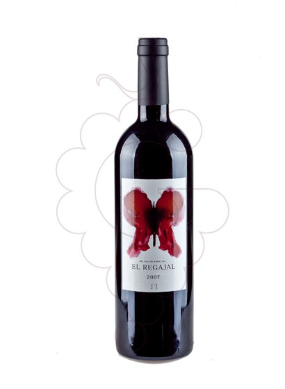 Photo El Regajal red wine
