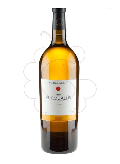 Photo El Rocallis Magnum white wine