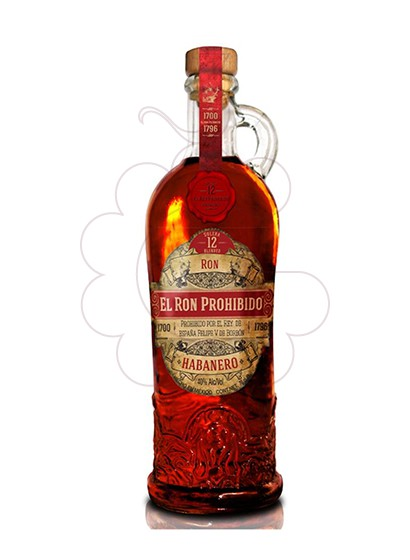 Photo Rum Prohibido Habanero 12 Years