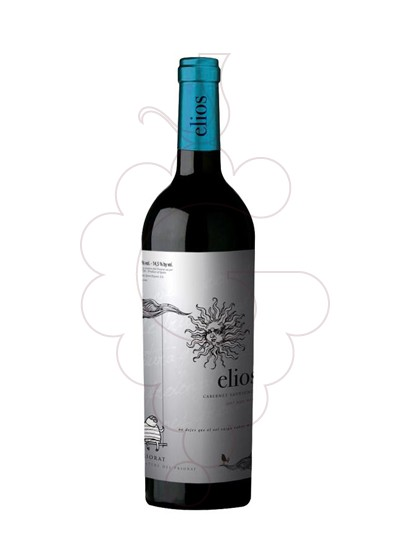 Photo Elios Negre red wine