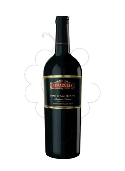 Photo Errazúriz Don Maximiano red wine