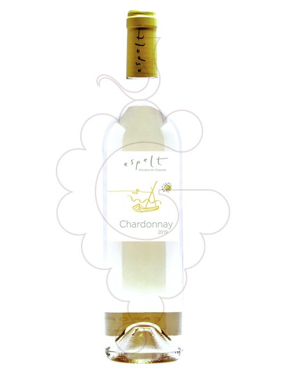 Photo Espelt chardonnay white wine