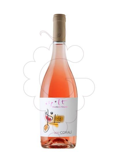 Photo Espelt Coralí rosé wine