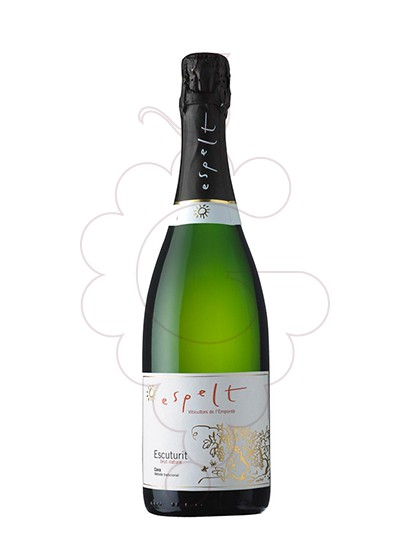 Photo Espelt Escuturit Brut Natural sparkling wine