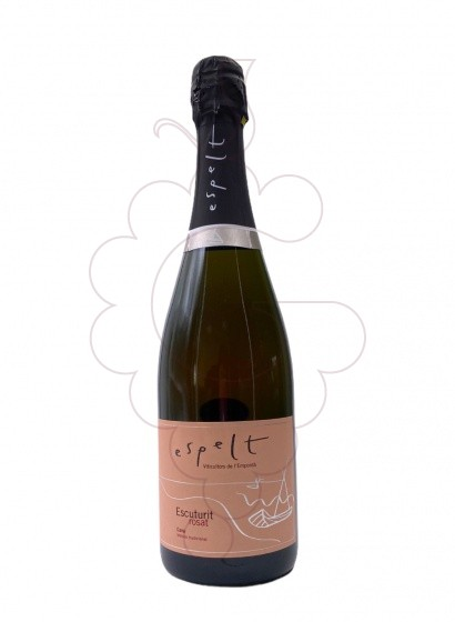 Photo Rosé Espelt Escuturit Brut sparkling wine