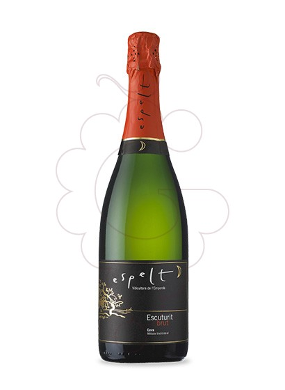 Photo Espelt Escuturit Brut sparkling wine