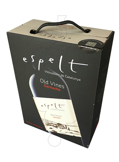 Photo Espelt Negre Bag in Box red wine