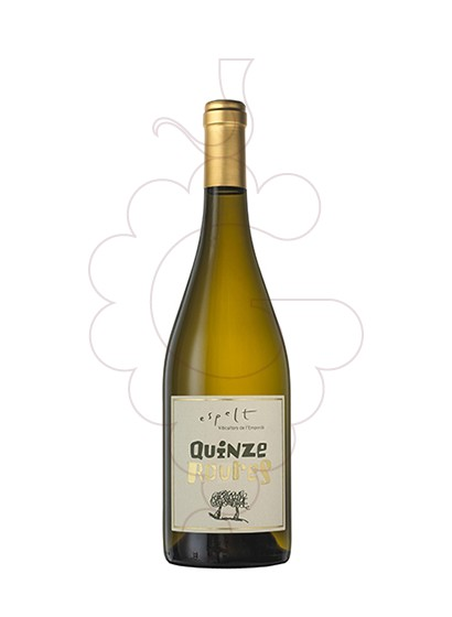 Photo Espelt Quinze Roures white wine