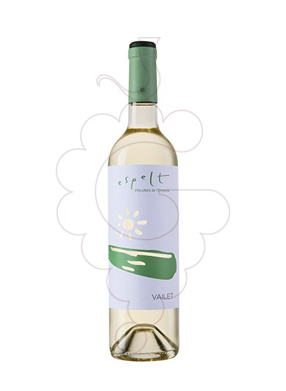 Photo Espelt Vailet white wine