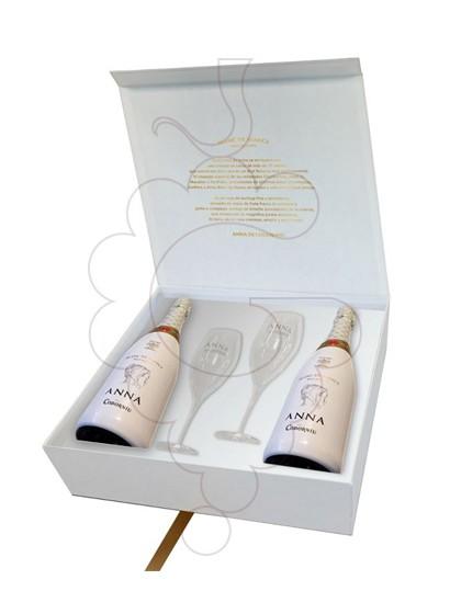 Photo Anna de Codorniu Blanc de Blancs Pack (2 u + 2 glasses) sparkling wine