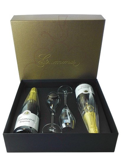 Photo Gift boxes Gramona Imperial Pack (2 u + 2 glasses)