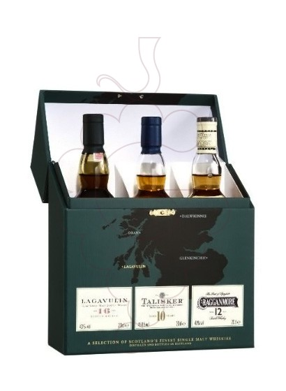 Photo Whisky Estoig Verd Strong Whiskies (Pack 3 u mini)