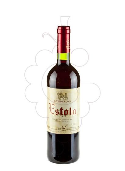 Photo Estola Reserva red wine