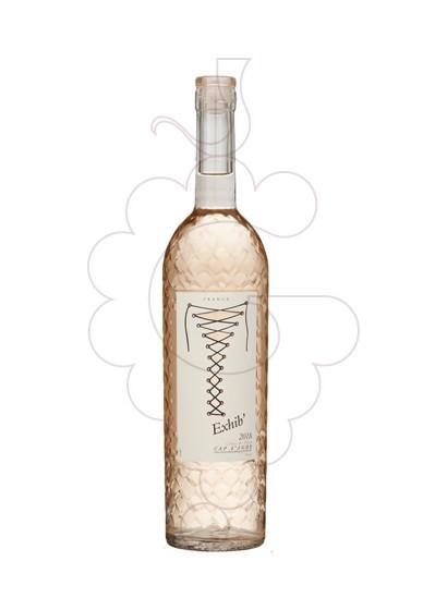 Photo Rosé Exhib' Cap d'Adge rosé wine