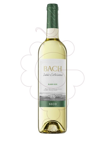 Photo Bach Blanc Sec white wine