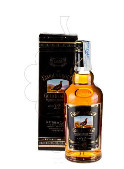 Photo Whisky Famous Grouse Gold Reserve 12 Years
