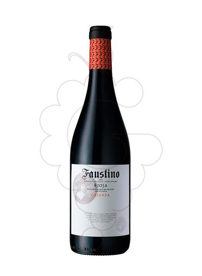 Photo Faustino Crianza red wine