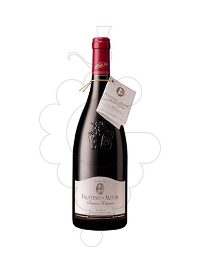 Photo Faustino de Autor Reserva  red wine