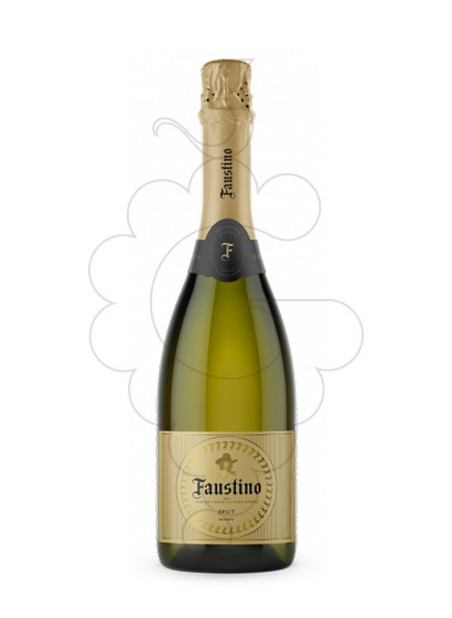 Photo Faustino Extra Brut sparkling wine