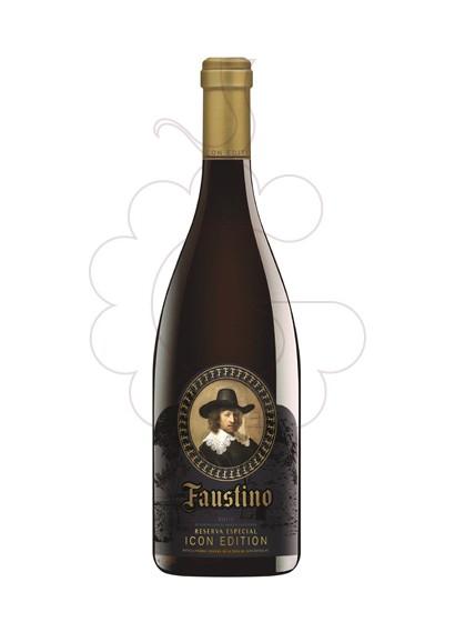 Photo Faustino Icon Edition red wine