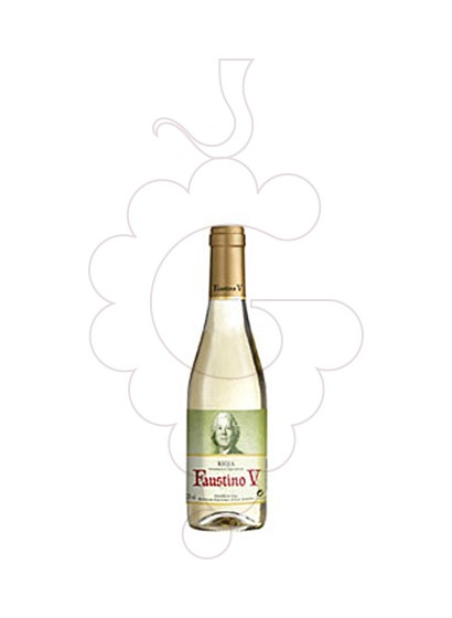 Photo Faustino V Blanc (mini) white wine