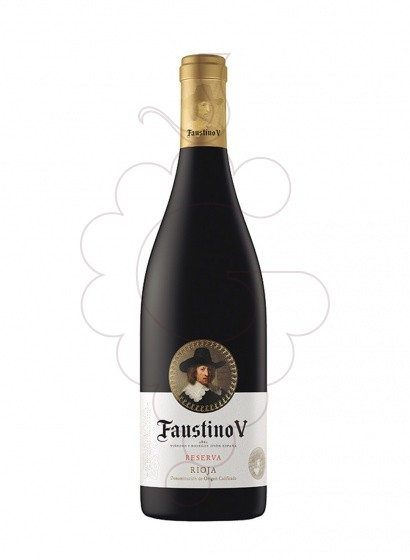 Photo Faustino V Reserva Magnum red wine