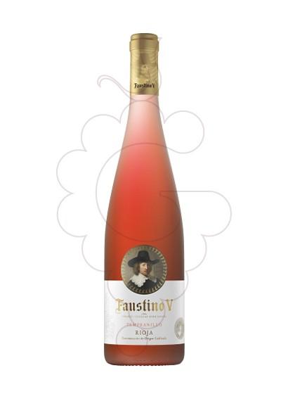 Photo Faustino V Rosat rosé wine