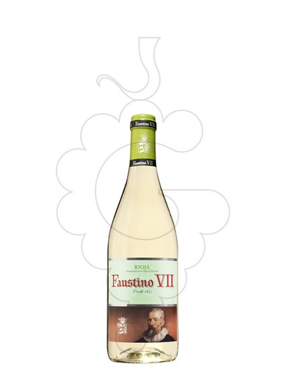 Photo Faustino VII Blanc (mini) white wine
