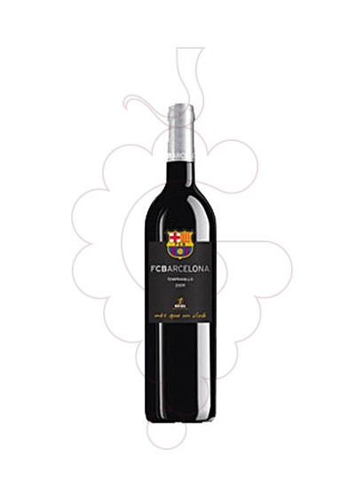 Photo F.C. Barcelona Tempranillo  red wine