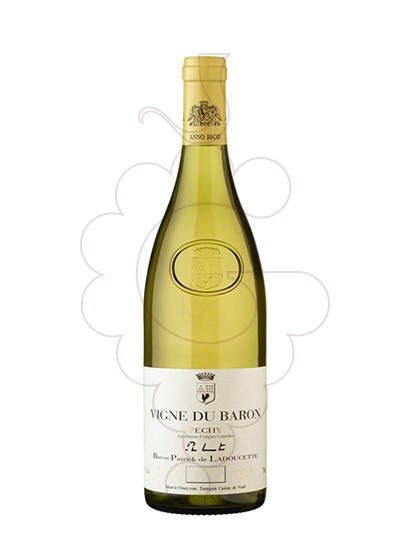 Photo Fechy Vigne du Baron white wine