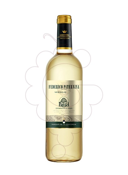 Photo Federico Paternina Verdejo white wine