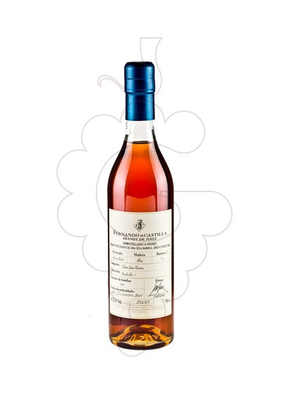 Photo Brandy Fernando Castilla Artesanal Amontillado