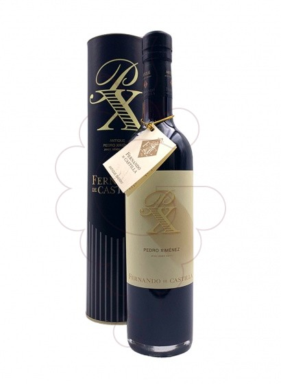 Photo Fernando Castilla Pedro Ximenez fortified wine