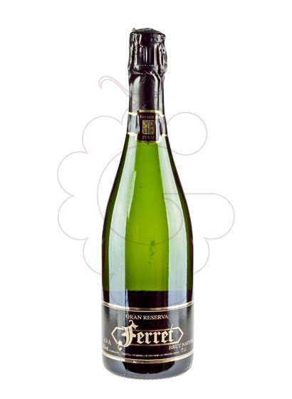 Photo Ferret Brut Nature Gran Reserva sparkling wine