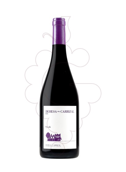 Photo Finca Caiz Carrizal Syrah red wine