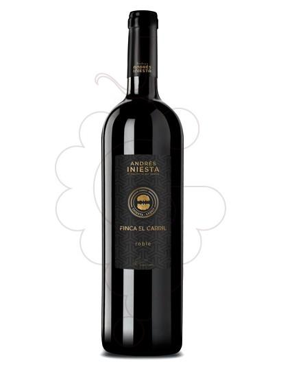 Photo Finca el Carril Negre red wine