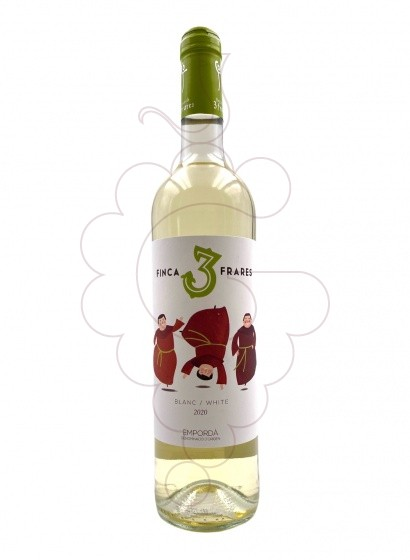 Photo Finca Els 3 Frares Blanc white wine