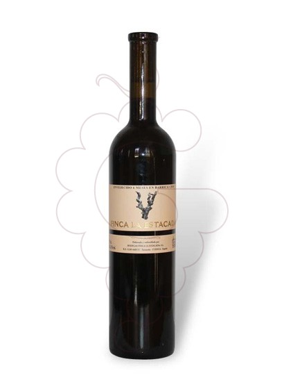 Photo Red Finca la Estacada Negre red wine