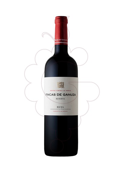 Photo Fincas de Ganuza Reserva red wine