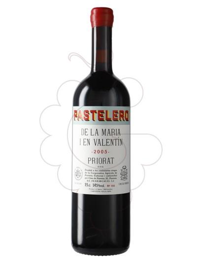 Photo Finques Cims de Porrera Pastelero de la Maria i en Valentín red wine