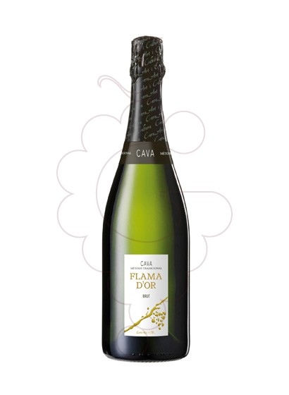 Photo Flama d'Or Brut sparkling wine