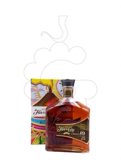 Photo Rum Flor de Caña 18 Years