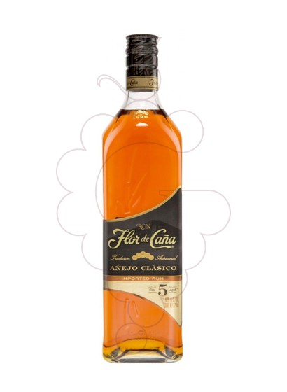 Photo Rum Flor de Caña Black Label 5 Years