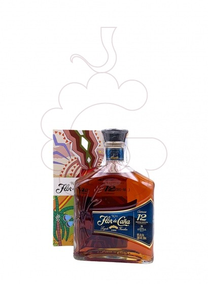 Photo Rum Flor de Caña 12 Years