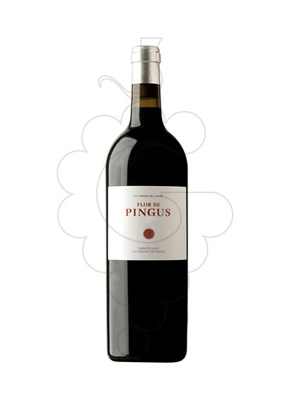 Photo Flor de Pingus  red wine