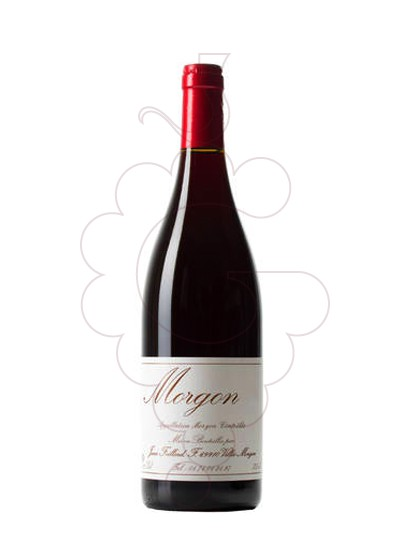 Photo Foillard Morgon Classique red wine