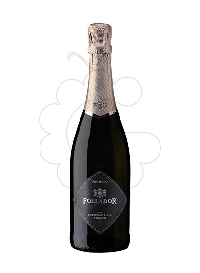Photo Follador Prosecco Extra Dry sparkling wine