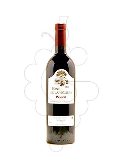 Photo Red Font de la Figuera red wine